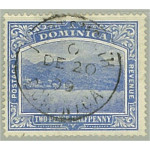 Dominica SG50 stämplat