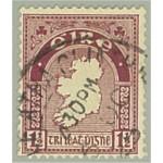 Irland 42A stämplat