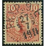 Sverige 76 PKXP 9E 27.7.1911