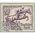 Tyska Riket 616 stämplat