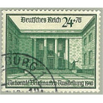Tyska Riket 743 stämplat