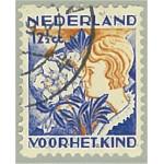 Nederländerna 256D stämplat