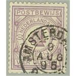 Nederländerna postanvisningsmärke 5 stämplat
