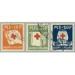 Finland 162-164 stämplade