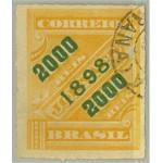 Brasilien 123 stämplad