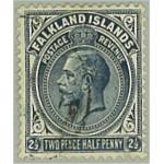 Falklands öarna 42a stämplad
