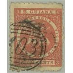 British Guiana SG105 stämplad