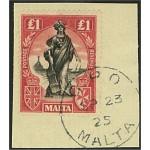 Malta 96bY stämplad