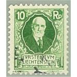 Liechtenstein 72 stämplad