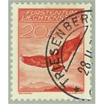 Liechtenstein 145 stämplad