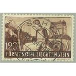Liechtenstein 168 stämplad