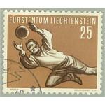 Liechtenstein 324 stämplad