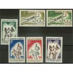 Dahomey 213-218 **