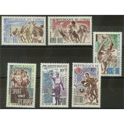 Kongo - Brazzaville 96-101 **
