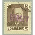 Polen 657 stämplat