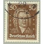 Tyska Riket 396 stämplat