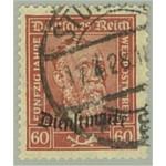Tyska Riket D112 stämplad