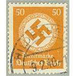 Tyska Riket D143 stämplad