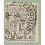 Luxemburg 55A stämplad