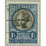 Luxemburg 196 stämplad