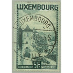 Luxemburg 258 stämplad