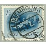 Luxemburg 545 stämplad