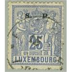 Luxemburg D42 stämplat