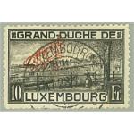 Luxemburg D128A stämplad