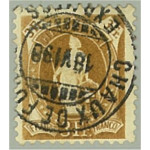 Schweiz 64A stämplad