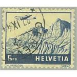 Schweiz 394 stämplad