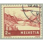 Schweiz 393 stämplad