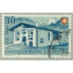 Schweiz 474 stämplad