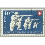 Schweiz 549 stämplad