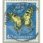 Schweiz 606 stämplad