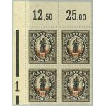 Tyska Riket 133 II ** 4-block