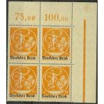 Tyska Riket 136 I ** 4-block