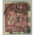 Tyska Riket 184 stämplat