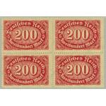 Tyska Riket 248c ** 4-block