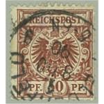Tyska Riket 50b stämplat