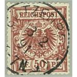 Tyska Riket 50a stämplad (ktt)