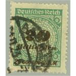 Tyska Riket 329B stämplad