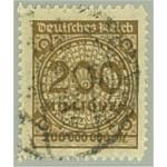 Tyska Riket 323B stämplat