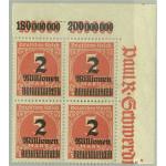 Tyska Riket 312Ab ** 4-block