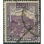 Pakistan 43C stämplad