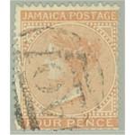 Jamaica 11 stämplad