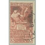 Italien 102 stämplad