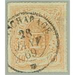 Luxemburg 23a stämplad (tu)