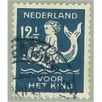 Nederländerna 232A stämplad