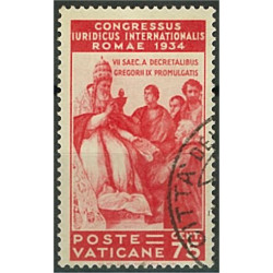 Vatikanen 48 stämplad