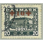 Danmark 200 stämplad